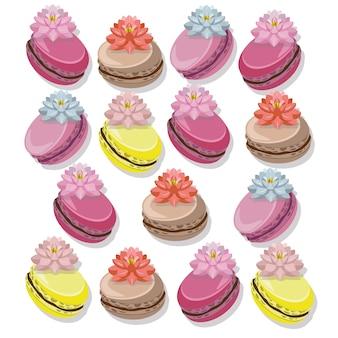 Collection macarron multicolore