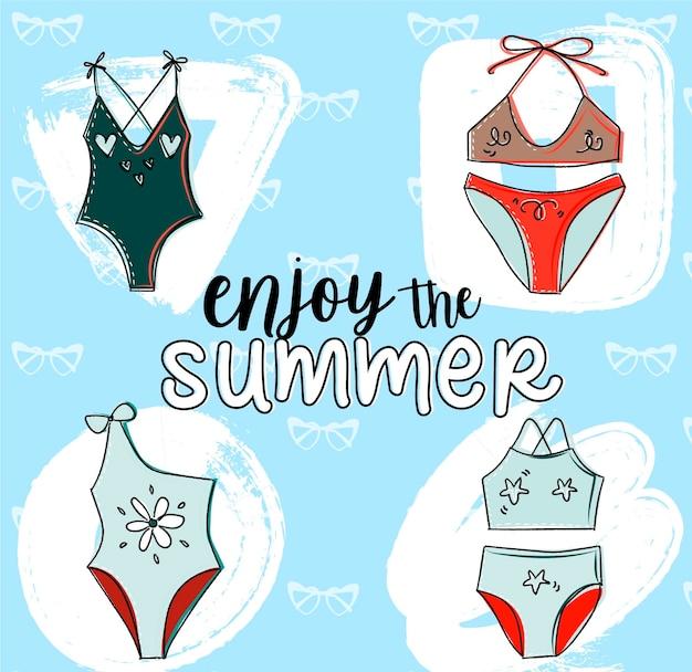 Collection de maillots de bain pour l'été