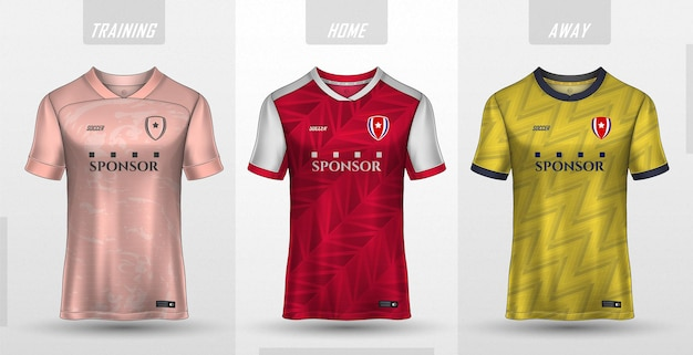 Collection de maillots de football haut de gamme