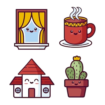 Collection maison kawaii