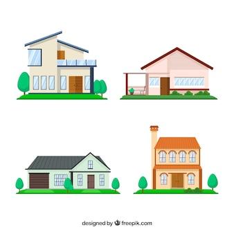 Collection de maison moderne