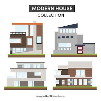 Collection de maisons modernes