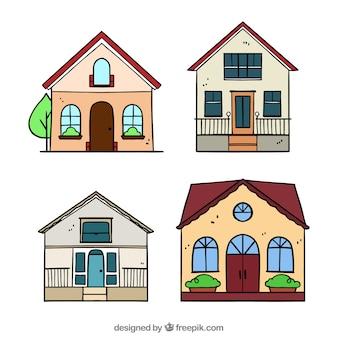 Collection de maisons
