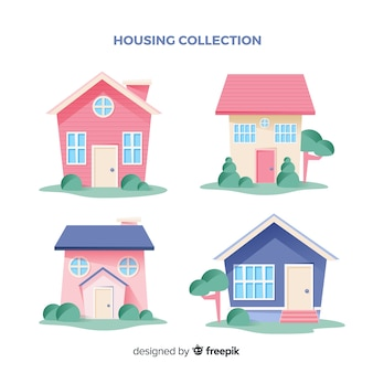 Collection de maisons