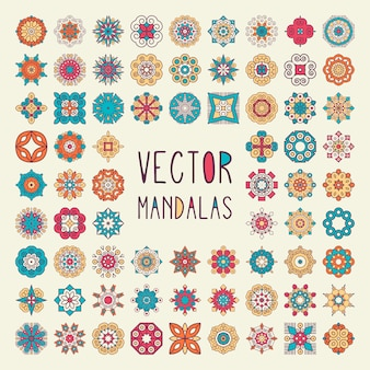 Collection mandalas