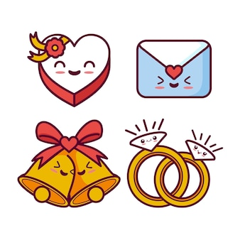 Collection de mariage kawaii