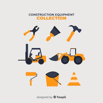 Collection de matériel de construction