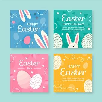 Collection de messages instagram de joyeuses pâques
