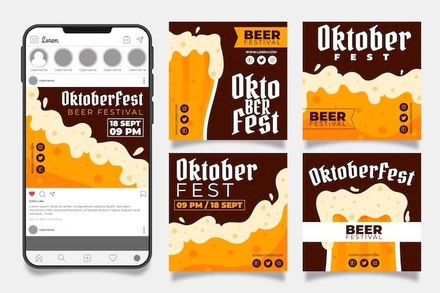 Collection de messages instagram oktoberfest