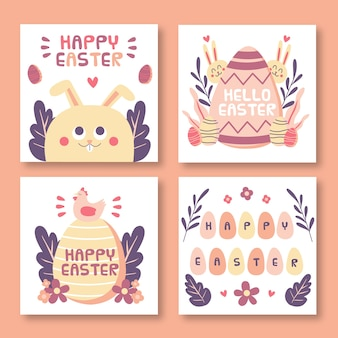 Collection de messages instagram de pâques
