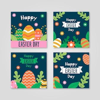 Collection de messages instagram pour le jour de pâques