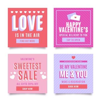 Collection de messages instagram pour la saint-valentin
