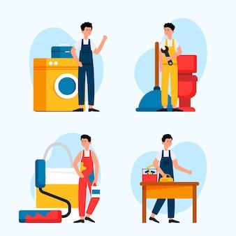 Collection métiers de la maison et de la rénovation
