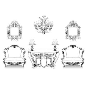Collection de mobilier de luxe