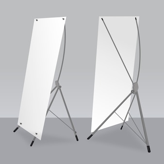 Collection de modèles de bannières x stand