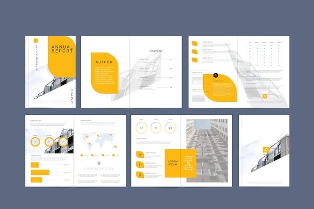 Collection de modèles d'entreprise minimalistes