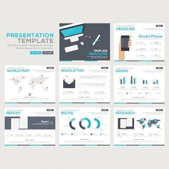 Collection de modèles infographic