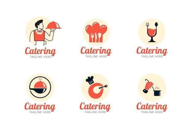 Collection de modèles de logo de restauration