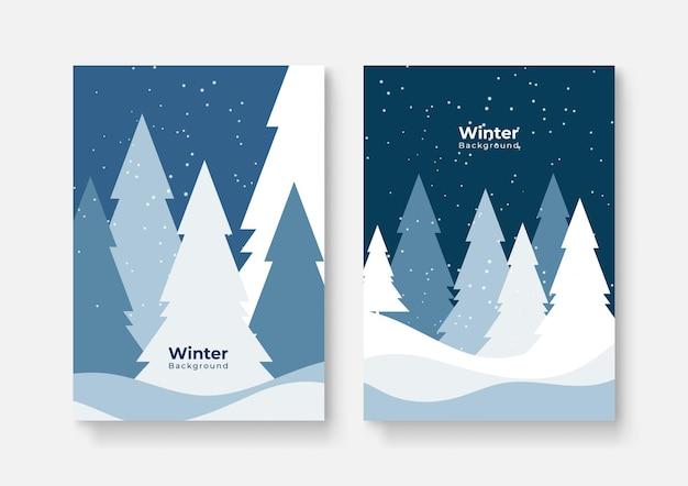 Collection de motifs abstraits, soldes d'hiver, contenu promotionnel sur les réseaux sociaux. illustration vectorielle