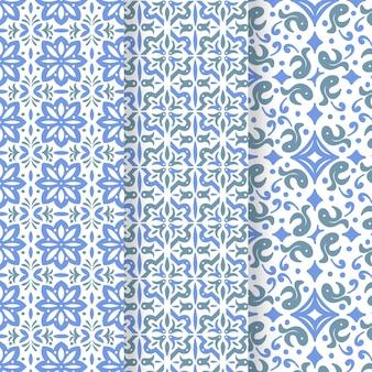 Collection de motifs arabes ornementaux