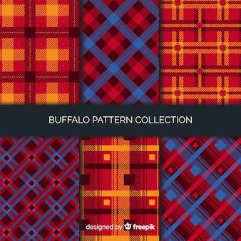 Collection de motifs de buffle