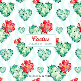 Collection de motifs de cactus