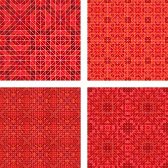 Collection de motifs décoratifs