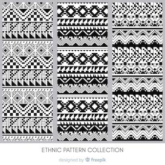 Collection de motifs ethniques