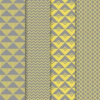Collection de motifs géométriques