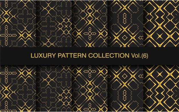 Collection de motifs de luxe