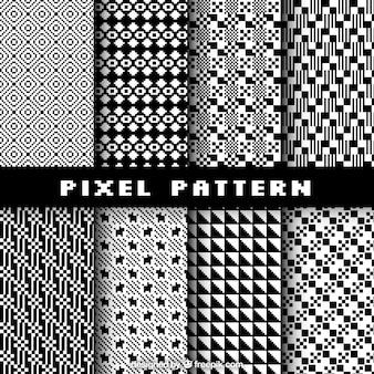 Collection de motifs de pixels