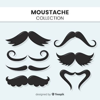 Collection de moustache
