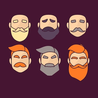 Collection movember beard