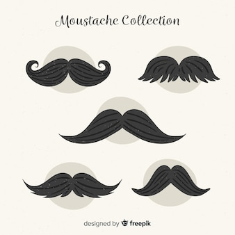 Collection movember moustache