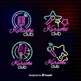 Collection de néons pour club de karaoké