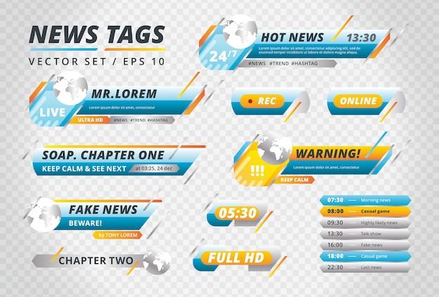 Collection de news tags
