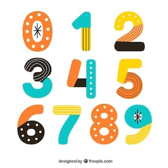 Collection de nombres abstraits