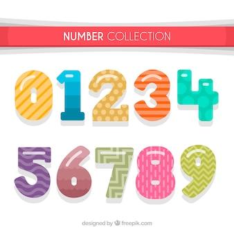Collection de nombres créatifs