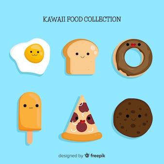 Collection de nourriture kawaii