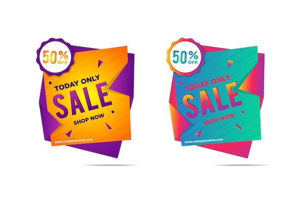 Collection de nouvelle étiquette de vente autocollant discount super discount