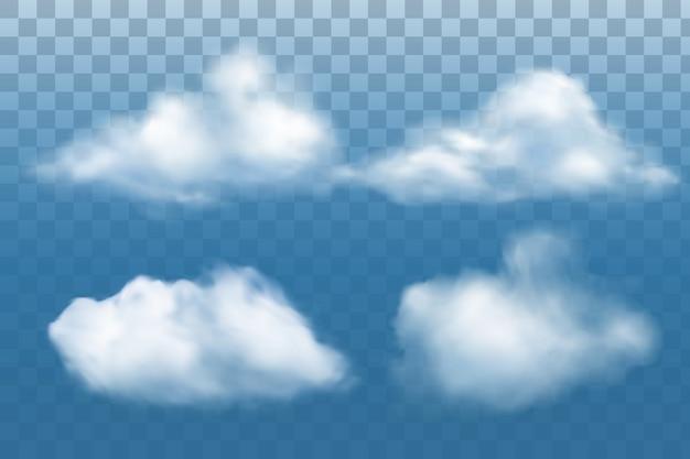 Collection de nuage réaliste