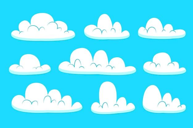 Collection de nuages