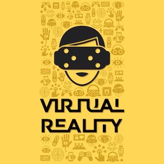 Collection numérique de réalité augmentée de vecteur numérique, jeu de prochaine génération