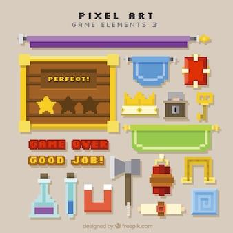 Collection d'objets de jeu vidéo