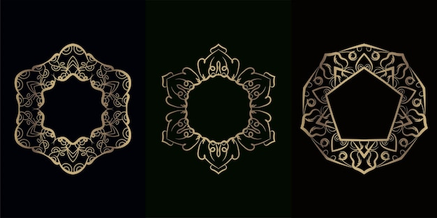 Collection d'ornement de mandala