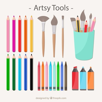 Collection d'outils artsy