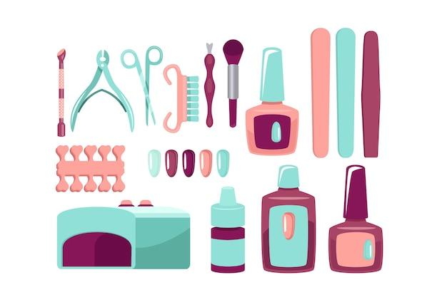 Collection d'outils de manucure
