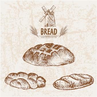 Collection de pain délicieuse