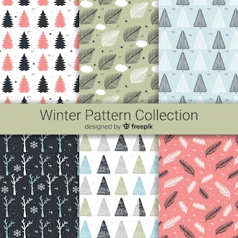 Collection de patrons d'hiver