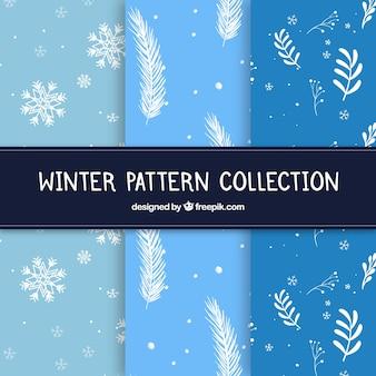 Collection de patrons d'hiver